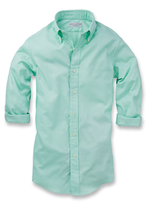 Mint Green Summer Oxford Product Image 5