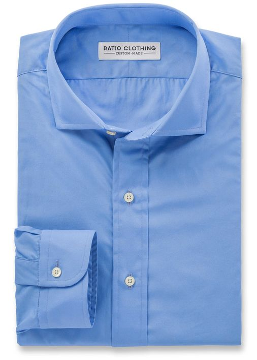 French Blue Signature Broadcloth Product Image 3