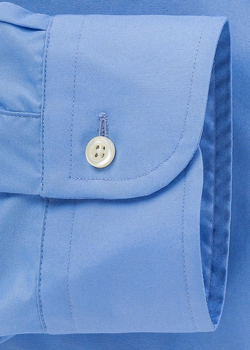 French Blue Signature Broadcloth Product Image 4