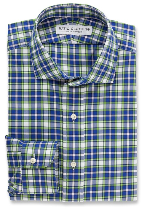 Green and Blue Jackson Plaid Product Image 3