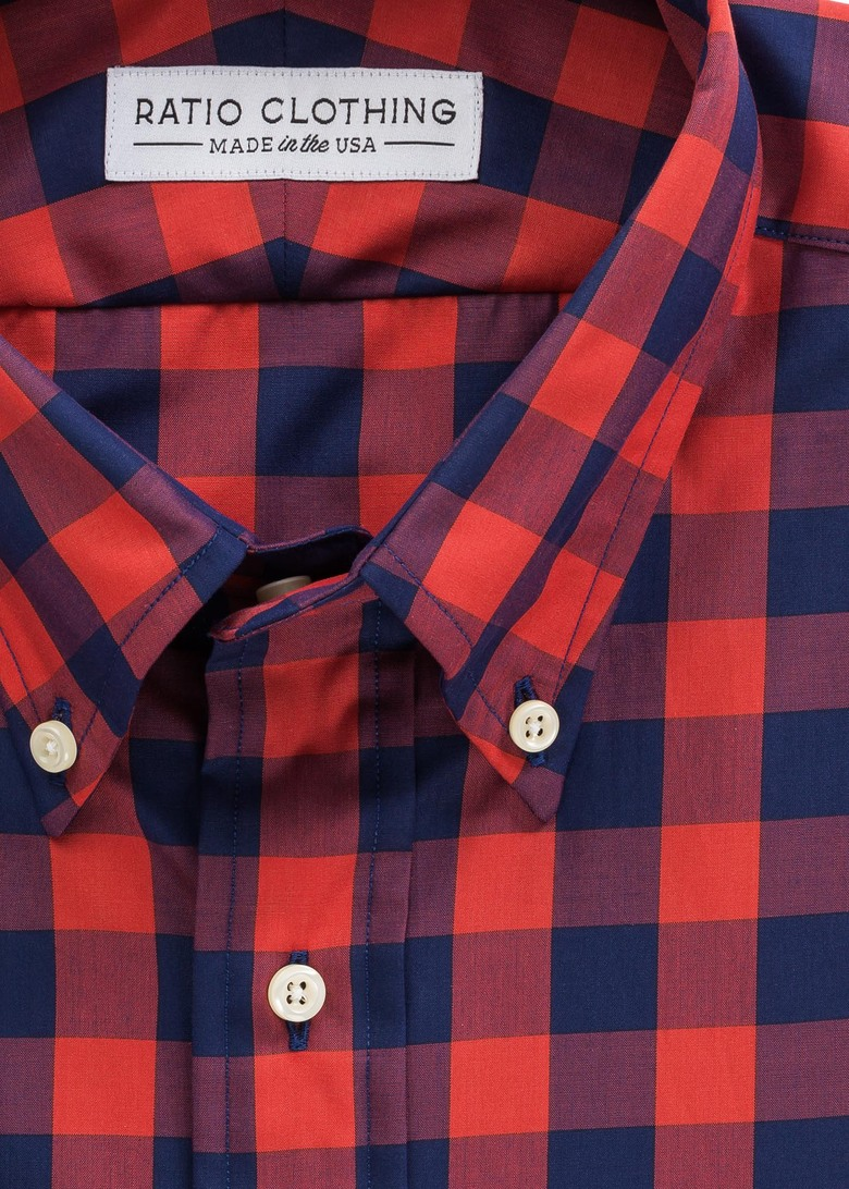Red Larimer Gingham