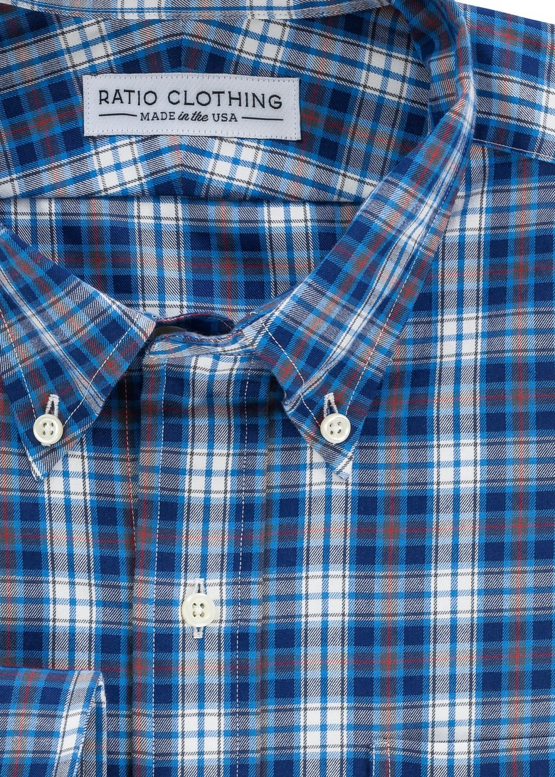 Blue Telluride Flannel