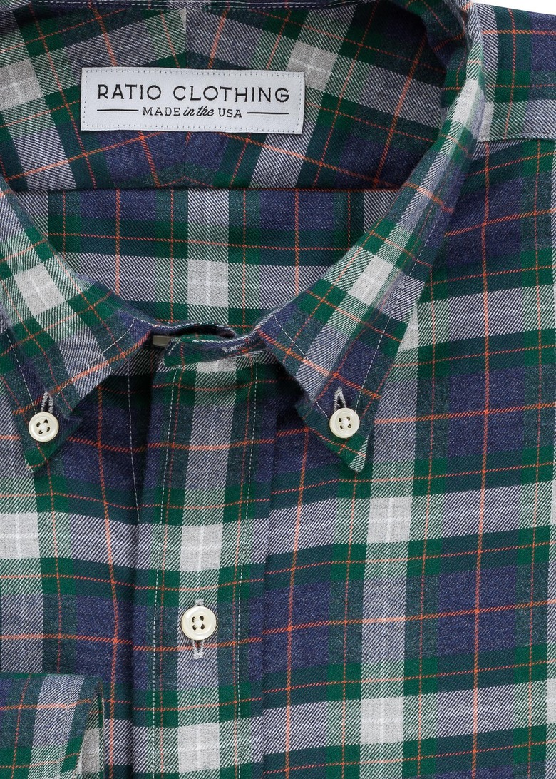 Green Gunnison Flannel