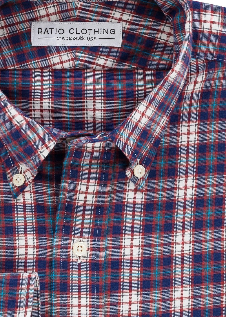 Red Telluride Flannel