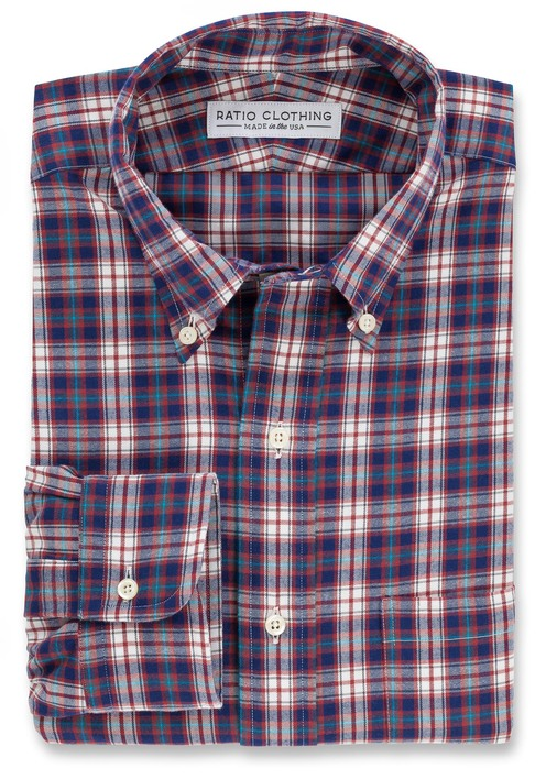 Red Telluride Flannel Product Image 3