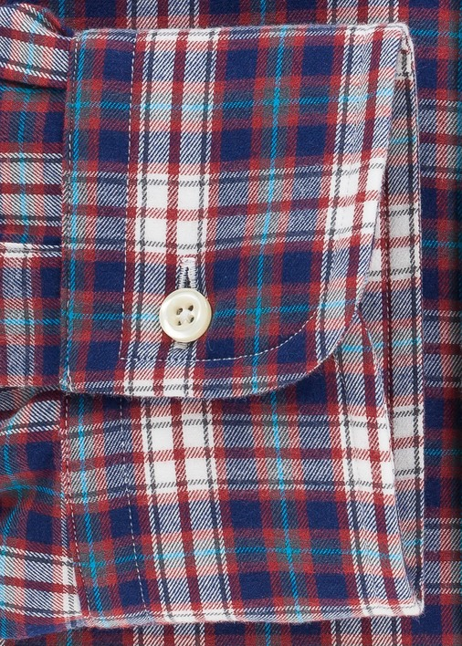Red Telluride Flannel Product Image 4