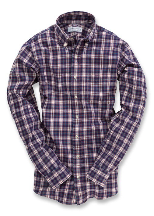 Red Telluride Flannel Product Image 5