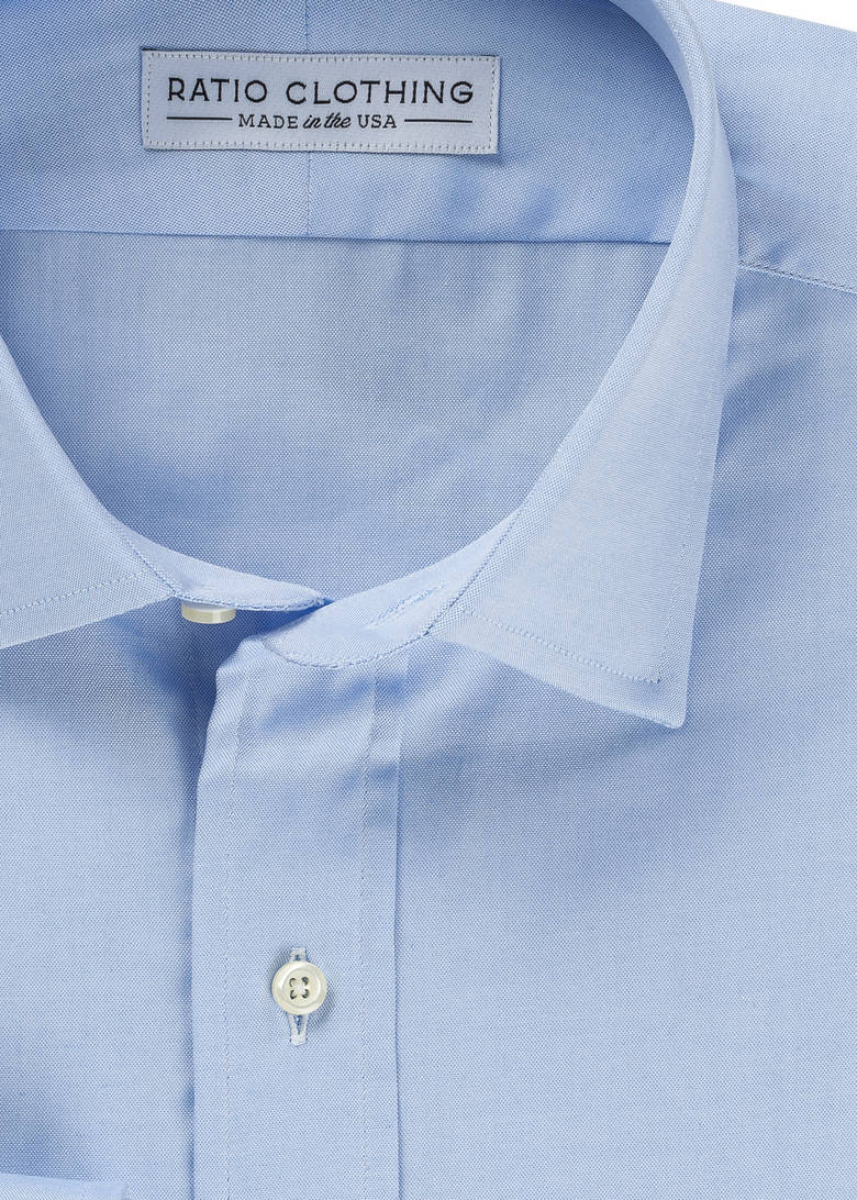 Light Blue Classic Pinpoint