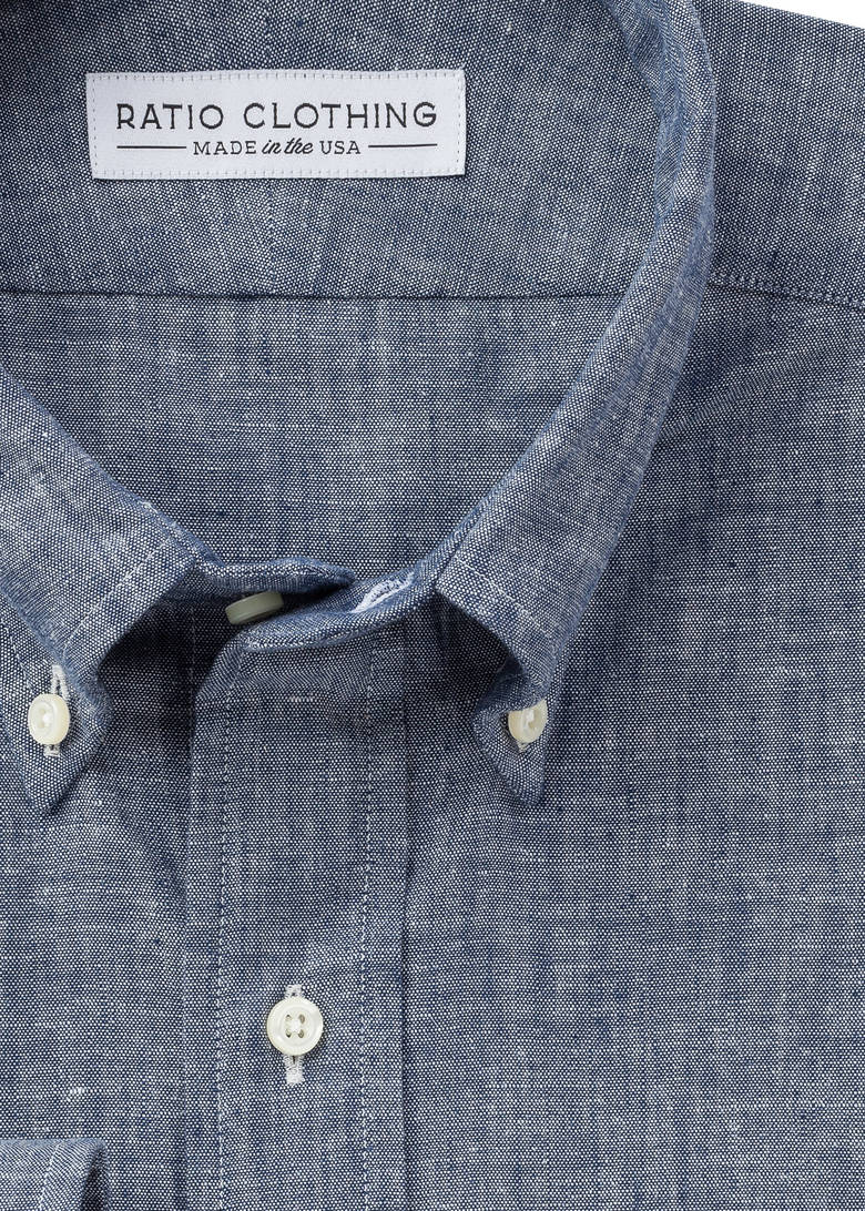 Highlands Indigo Chambray