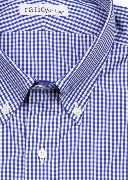 Image for Dark Blue Mini-Gingham