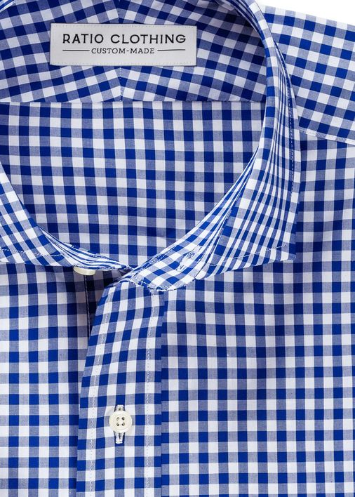 Image for Royal Blue Medium Gingham