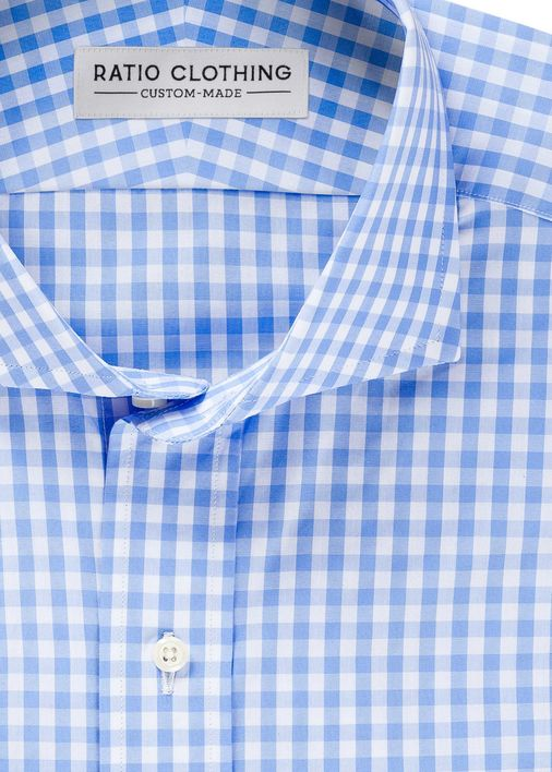 Image for Light Blue Medium Gingham