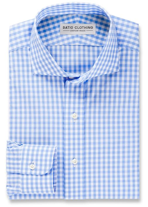 Light Blue Medium Gingham Product Image 2