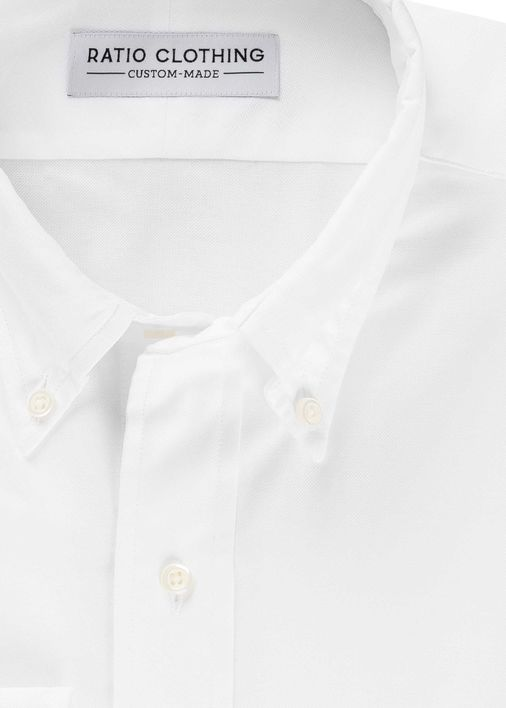 Image for White All Season Oxford
