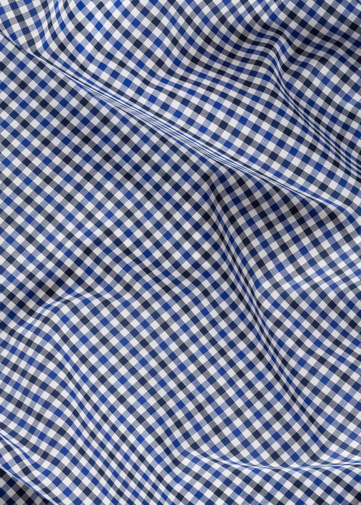 Navy and Blue Mini-Gingham Product Image 5