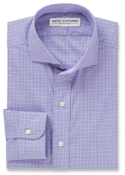 Purple Prince of Wales Check Product Image 3