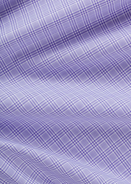 Purple Prince of Wales Check Product Image 5