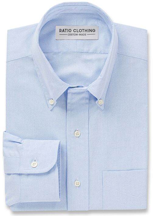 Light Blue Campus Oxford Product Image 3