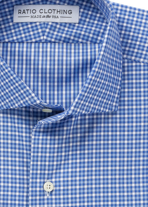 Blue Royal Twill Check