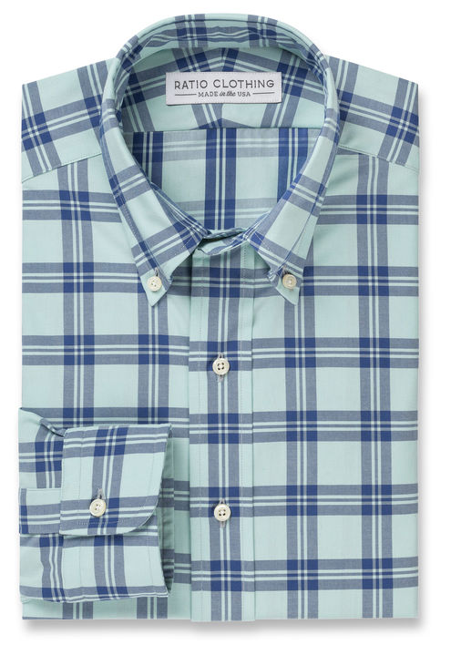 Teal Douglas Plaid Product Image 3