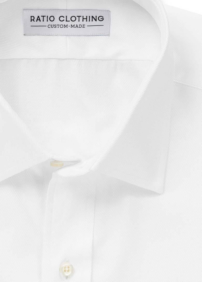 White Signature Twill Product Image 2