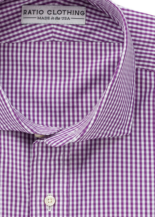 Purple Mini-Gingham
