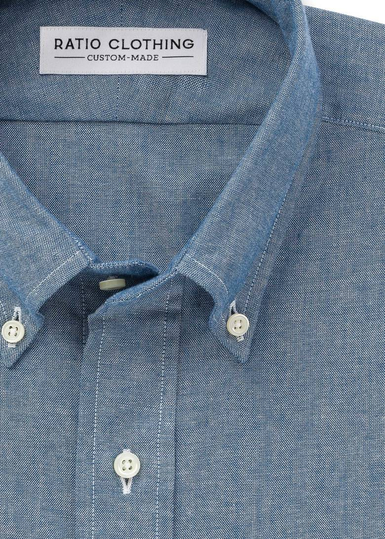 Blue Selvedge Chambray Utility Product Image 1