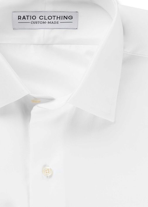 Image for White Madison Twill