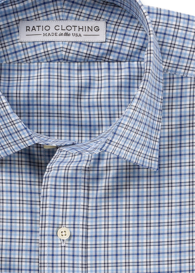 Light Blue Emerson Check