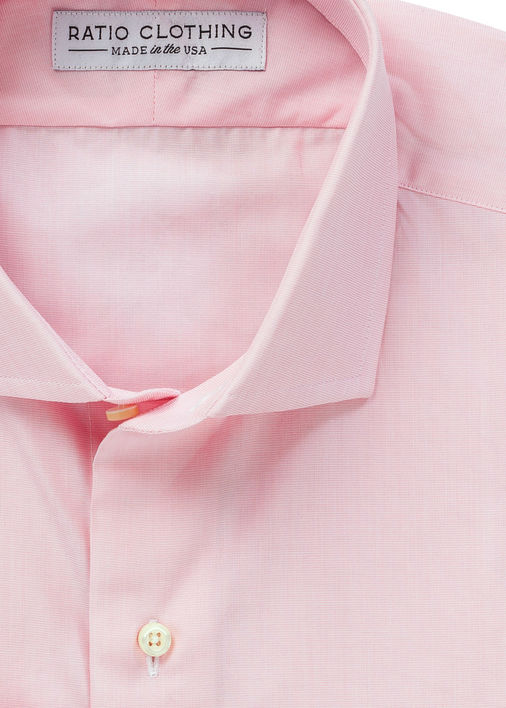 Pink End-On-End Broadcloth